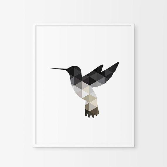 ♥ Hummingbird ♥ --------------------------------------------------------------------------------------  YOU WILL GET :  1 JPEG 18 x 24 1 PDF 11