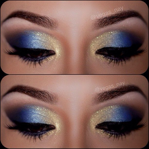 Feeling Blue using @motivescosmetics ...prime eyes and apply black pencil to crease; blend out using ONYX e/s and use transition color above crease is IN THE BUFF & throughout crease. Apply MYKONOS BLUE on outer lid, then CRYSTAL BLUE on mid lid; followed by GODDESS on inner lid. Finish w/ liquid liner and @Allison j.d.m j.d.m House of Lashes in Pixie Luxe.