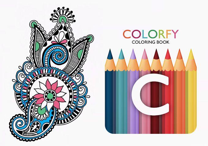 Colorfy Ücretsiz Boyama Kitabı!