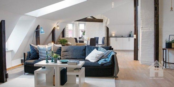 Sweden Apartment by Scandinavian Design | HM-decor