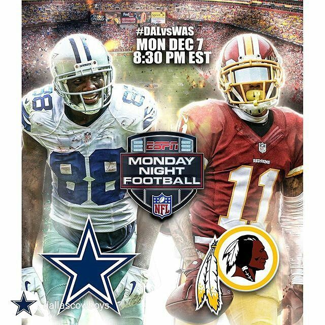 Watch Monday Night Football w/ @dallascowboys vs @redskins TONIGHT on jumbo projection screens on the inside and outside stage. Kickoff is at 7:30pm!  No cover.  #DallasCowboys #Dallas #UptownDallas #TheRustic by therusticdallas