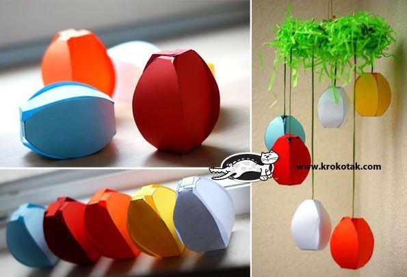 2 Easter Paper Crafts | krokotak