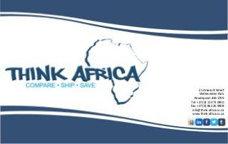 Think Africa - www.comparefreightrates.co.za