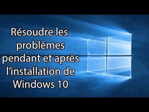 Des solutions pour les soucis rencontré le plus fréquemment pendant et après l'installation de Windows 10. liens: ATI : http://support.amd.com/fr-fr/download...