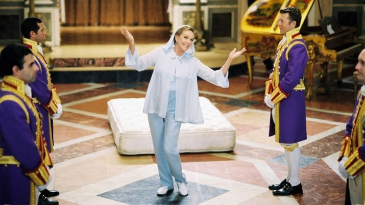 In 1997, the Sound of Music and Mary Poppins star had surgery to remove benign nodules on her vocal chords – but when she woke up, she found that she was no longer able to sing. She sang professionally again for the first time in The Princess Diaries 2, and nailed the song on the first take, bringing tears to the eyes of the cast and crew.