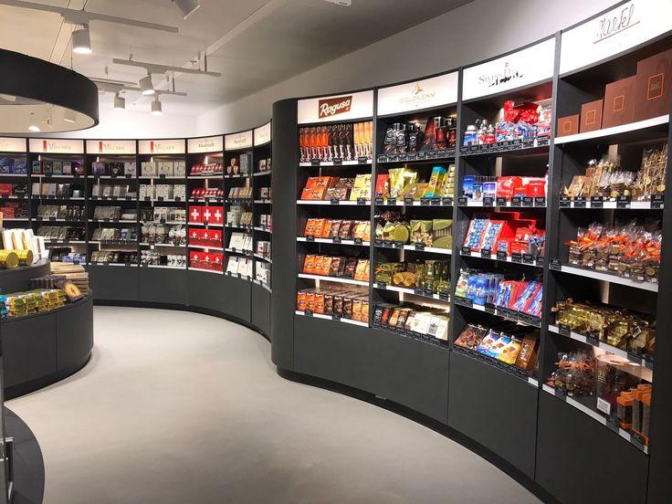 Chocolaterie Martel / Aéroport de Genève design Pozzo di Borgo Styling SA - Réalisation RS Agencement Steiner SA