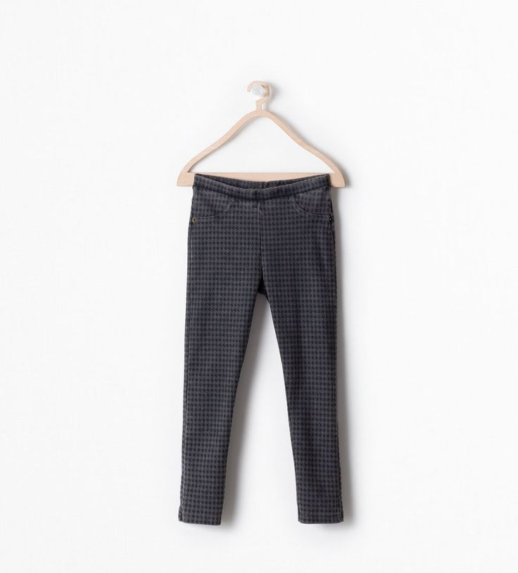 Image 1 of HOUNDSTOOTH LEGGINGS from Zara