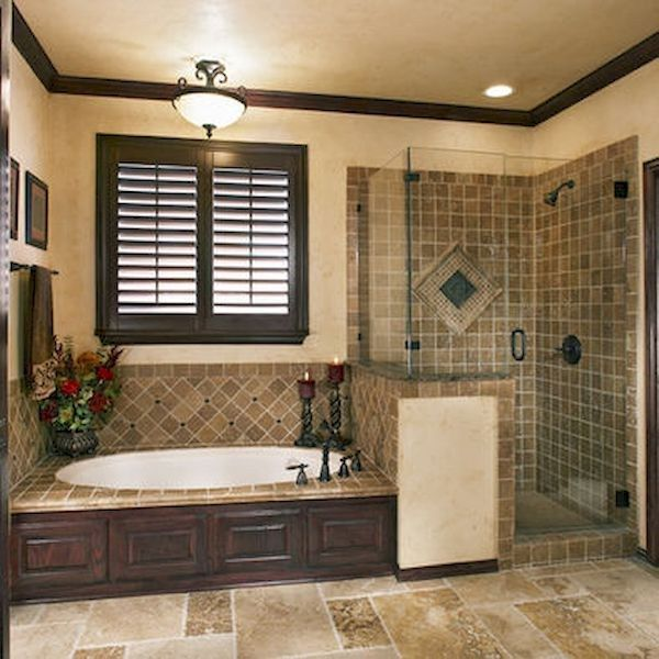 2728 best cool tile bathrooms images on pinterest for Cool master bathrooms