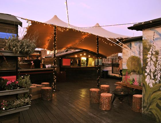 30 Incredible Rooftops You Should Be Lounging On Right Now - Hello Queen of Hoxton :)