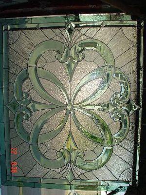 Beautiful beveled window pattern