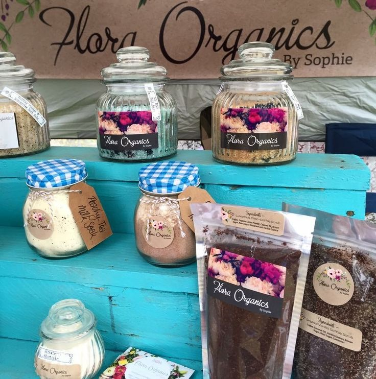 FLORA ORGANICS By Sophie - Come follow our page to see all our wonderful products available for purchase!