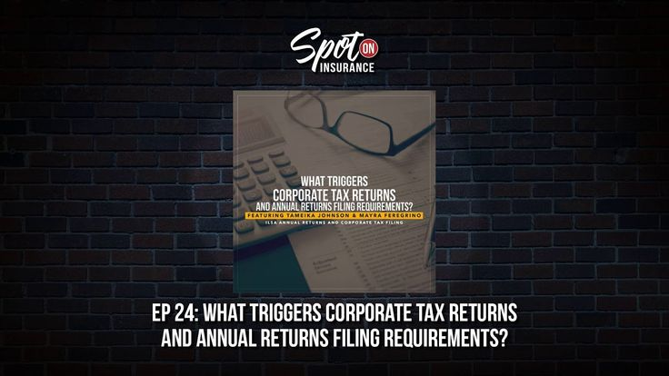 Ep. 24: What Triggers Corporate Tax Returns and Annual Returns Filing Re...