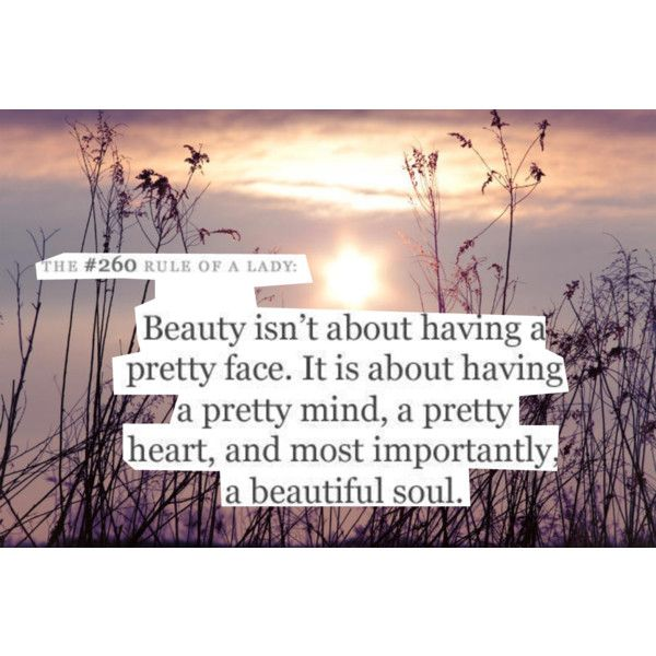 Beautiful and true quote..... An ugly inside can make a beautiful girl