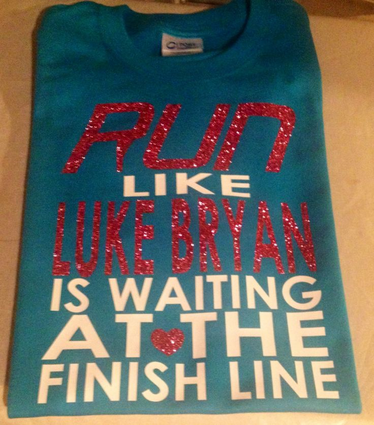 Run Like Luke Bryan is at the Finish Line TShirt by planitmarrs, $17.00
