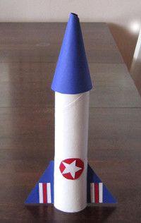 askarteluohje raketti | Hepokatti.fi - puuhaa ja tekemistä lapsille >> askarteluohjeita lapsille, värityskuvia, tehtäviä lapsille, leikkivinkkejä ja pelejä