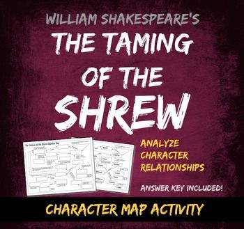 character analysis on the taming of the shrew Undeniably, the taming of the shrew is a problematic play and not only in the context of modern gender politics the difficulties raised by the very idea of a battle of the sexes are inherent in the text itself.