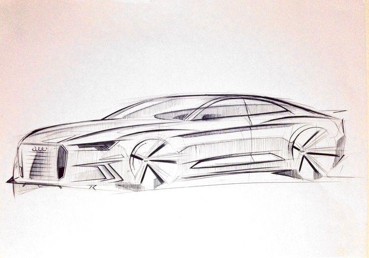 Audi sketch by P. Ruperto