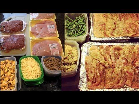 Bodybuilding & Fitness Meal Prep: Beef Kabobs & Quinoa (Pinchos de Bistec y quinoa) - YouTube