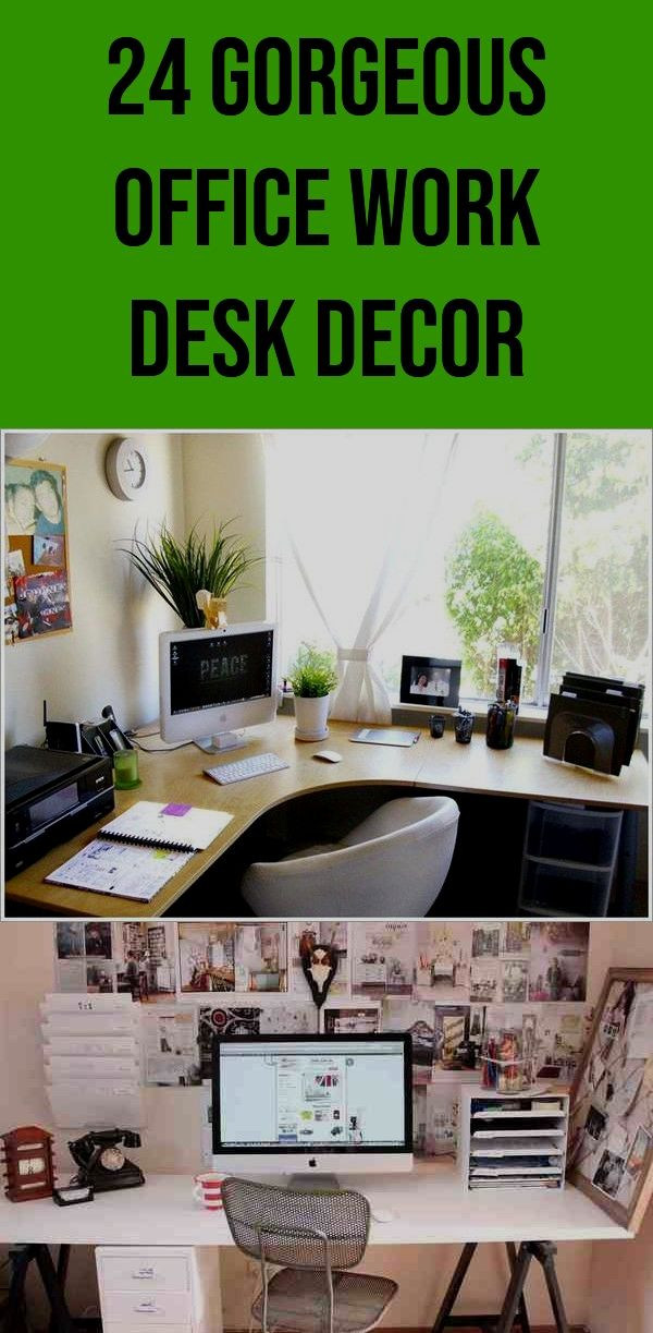 First Rate Office Work Desk Decor Organization 24 Gorgeous Office Work Desk Decor 100 20180911071536 17 O Work Desk Decor Work Office Decor Office Desk Decor