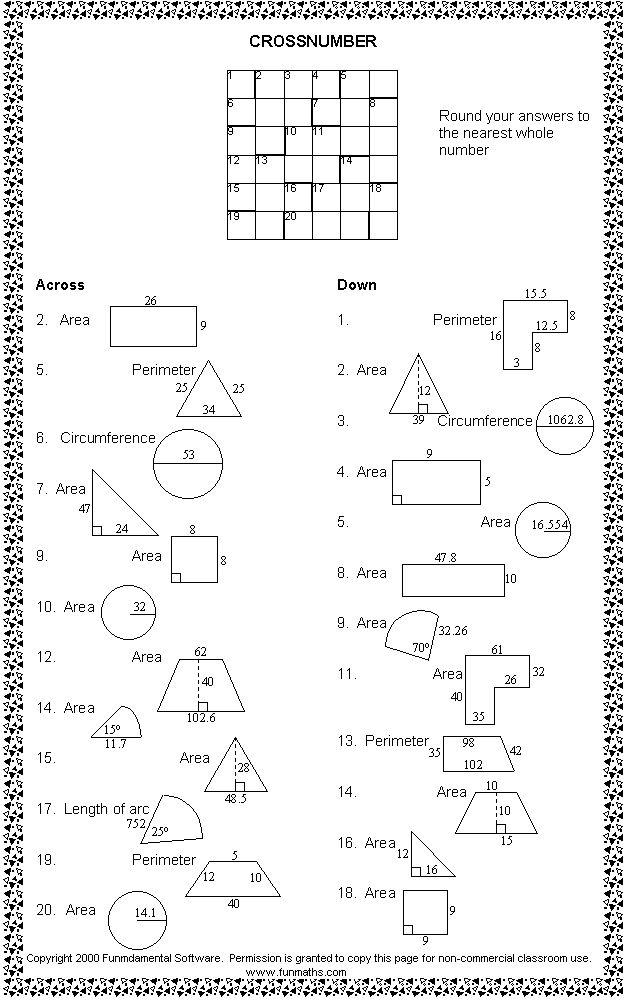 Free high school math worksheet from Funmaths.com   High ...