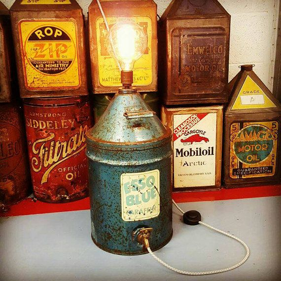 Industrial Light Fuel Oil: 59 Best Oil/Gas Can Table Lamps Images On Pinterest
