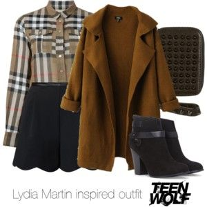 Lydia Martin inspired outfit/Teen Wolf