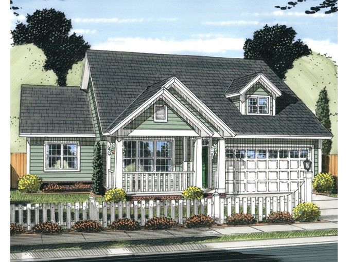 Eplans cottage house plan 1570 square feet and 3 bedrooms for Eplans cottage house plan