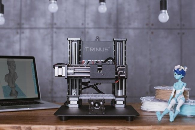 Trinus una impresora 3D y grabadora láser desde 299 dólares  Dispositivos crowdfunding impresora 3d