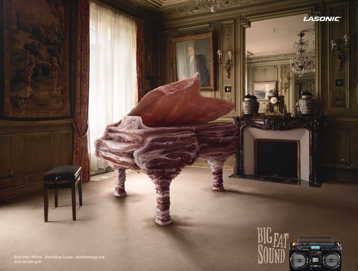 Original Ad Image: Big Fat Sound | Creative Ad Awards