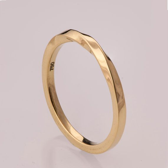 17 Best ideas about Gold Wedding Rings on Pinterest Silver band