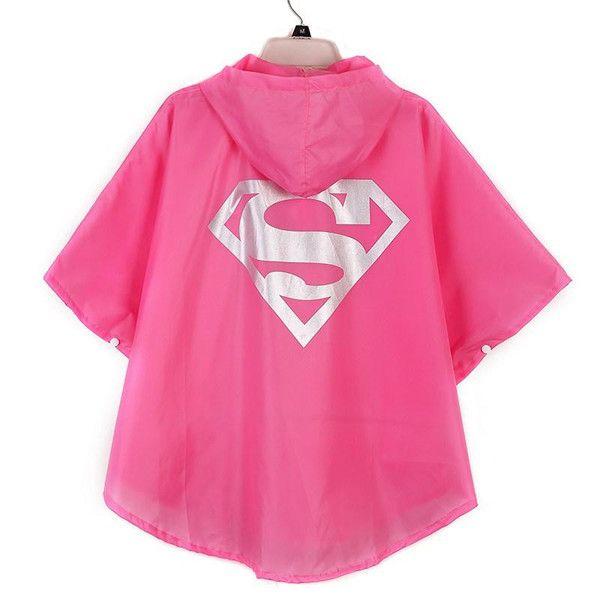 7 Types Fashionable Kids Rain Coat Superman Batman Spiderman Pattern Children Raincoat Rainwear Waterproof Kids Clothes