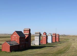 Grain elevators in Saskatchewan