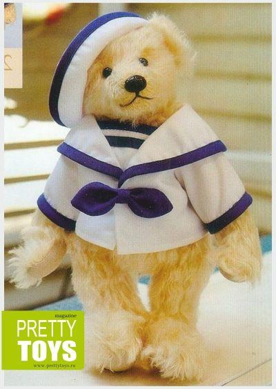 Мишки в стиле Тедди - Игрушки-зверюшки - Коллекция Выкроек - Pretty Toys
