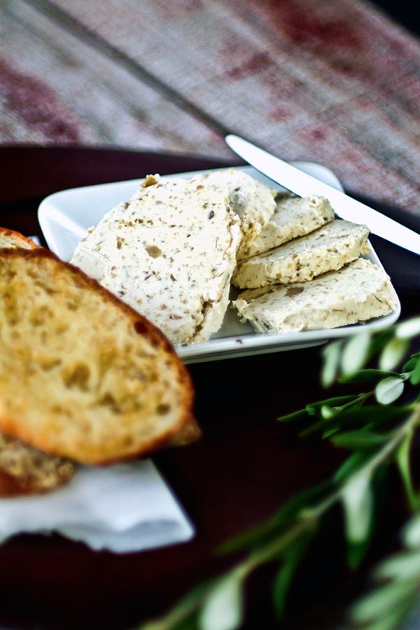 Love olives? Check out this simply butter recipe from DeLallo.com // Olive & Garlic Butter Spread #olives #bread #recipe