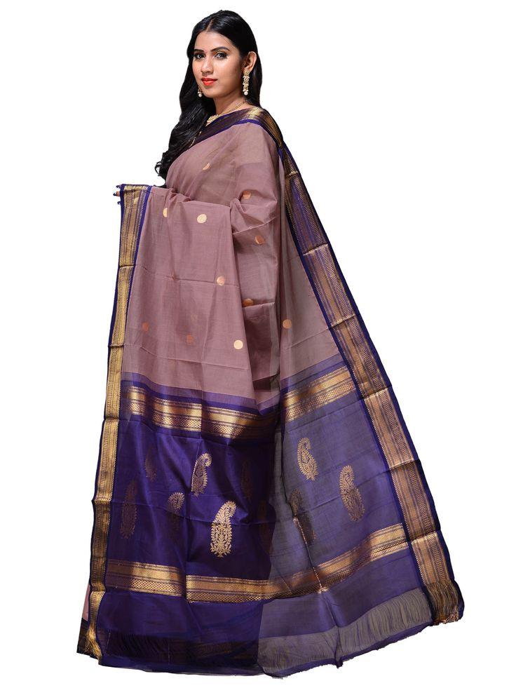 Handloom Silk Gadwal Saree g0102b
