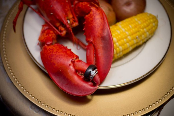Lobster dinner from Maine caterer, Fosters Clambakes and Catering, York, Maine #mainelobster #lobster #clambake #lobsterbake