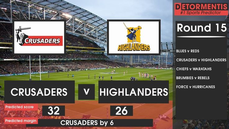Super Rugby Round 15 predictions for this weekend | Superbru Predictions...