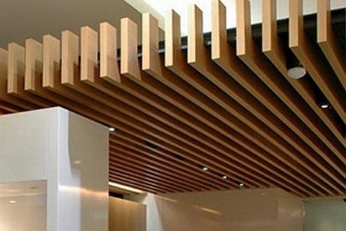 Techo madera modern asian style pinterest - Plafones para exteriores ...