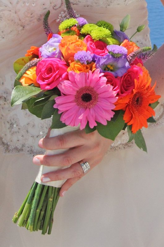 colorful bridal bouquet.  Flowers of Charlotte loves this!   Find us at www.charlotteweddingflorsist.com for more information on weddings and events in Charlotte, NC