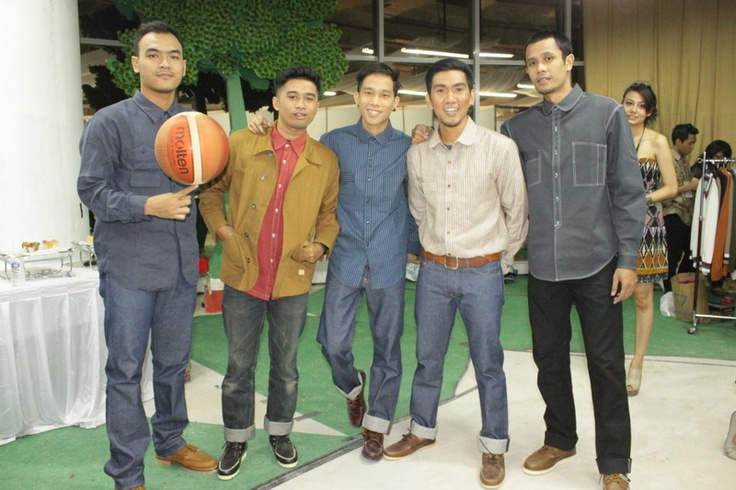 Masa Depan Basketball for Oldblue Co. at the Universitas Indonesia Fashion Week 2012