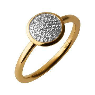 Women Rings, Diamond Essentials Pave Ring Yellow Gold Vermeil SIZE P http://www.linksoflondon.com/gb-en/online-shop/women/rings/23297-diamond-essentials-pave-ring-yellow-gold-vermeil