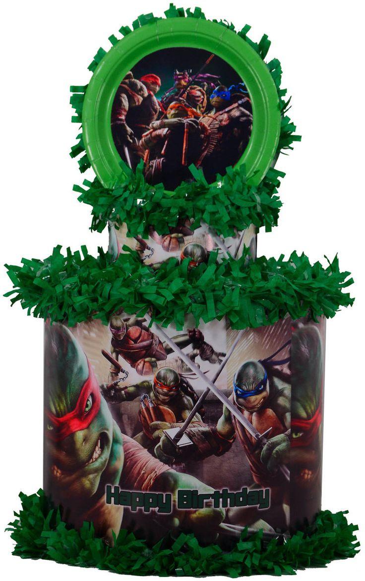 World of Pinatas - Ninja Turtles Personalized Pinata, $39.99 (http://www.worldofpinatas.com/ninja-turtles-personalized-pinata/)