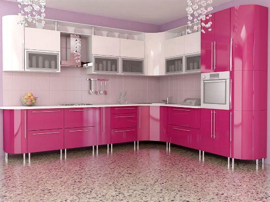 1000 ideas about Pink Kitchen Interior on PinterestPink