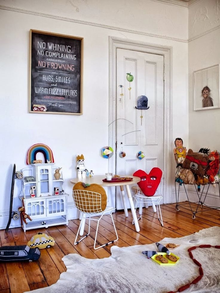 the boo and the boy: eclectic kids' rooms Totally ToT cute