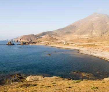 Loma Pelada walking trail in the Cabo de Gata Natural Park - Almeria