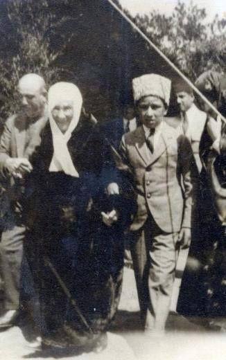 Atatürk'ün annesi Zübeyde Hanım (1857-1923) Vefatından kısa bir süre önce