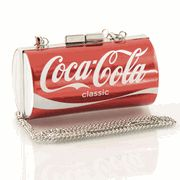 Coke can bag--want! To go with my coke hills on my shoes I want board