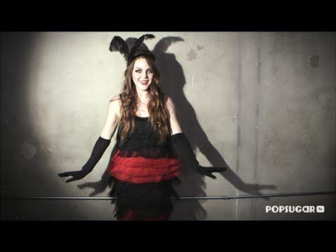 DIY Fashion | How to Make a Flapper Halloween Costume - YouTube