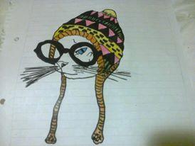 gato hippie