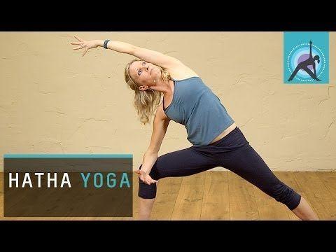 ▶ Hatha Yoga at Home - YouTube